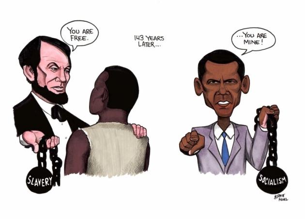 Obama's Slavery of Socialism