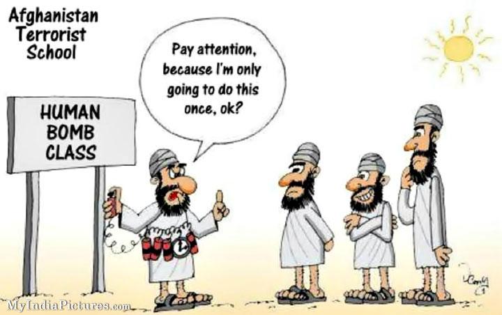 Terrorist-School-Terror-Education-Funny-Cartoon-Jokes | Taking ...