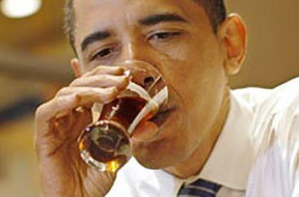 Obama-Drinking