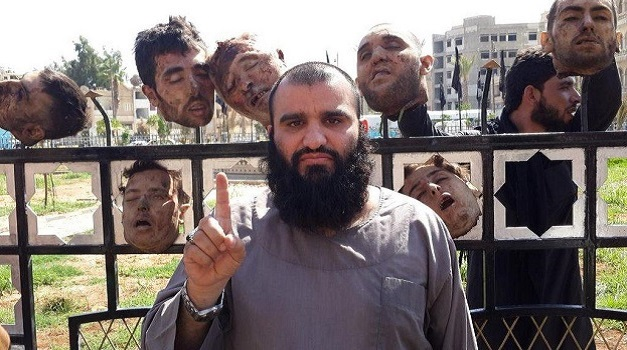ISIS Heads in Syria 1