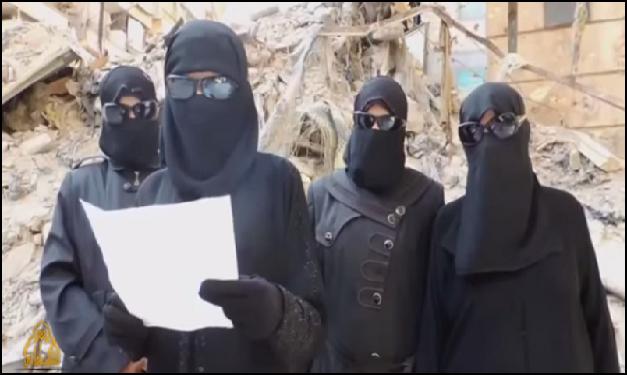 ISIS Muslimah Jihadis in Homs, Syria