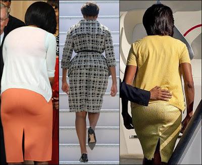 Michelle Obama fat ass