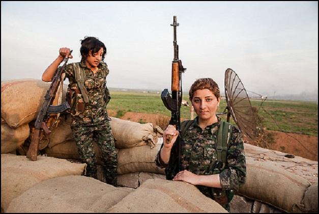 Kurdish Female Fighters 2
