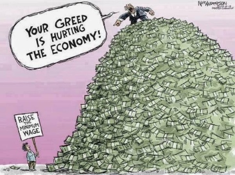 CEO pay and greed