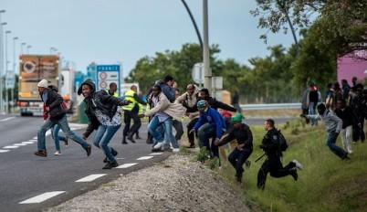 Calais-clash
