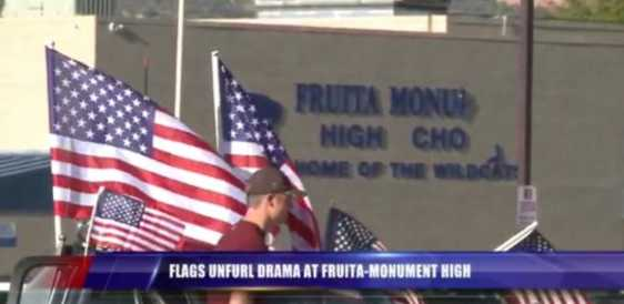 american_flags_high_school