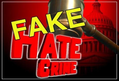 fake hate crime