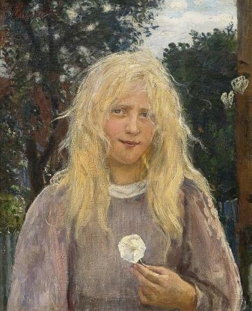 Hans_Heyerdahl_(1857-1913)_The_Girl_with_Linen_Hair - Copy