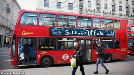 London Bus Adverts May 2016