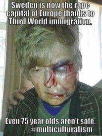 elderly victim of muslim violence