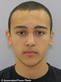 In this undated photo provided by the Anne Arundel County police Andres Rafael Quintana Garcia is shown. Authorities in Maryland are looking for Garcia, whom they say stabbed two young relatives at a Glen Burnie, Md., home, killing a young girl and wounding a teenage boy. Both children were taken to area hospitals. Police said the girl died and the boy is being treated for injuries that aren't life-threatening. (Anne Arundel County police via AP)