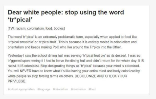 sjw-triggered-by-tropical