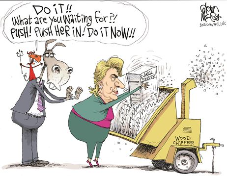 hillarycartoon-shredder