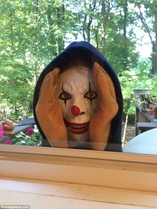Another of Scary Peepers items is the Scary Peeper Giggle, which is similar to the company's 'classic' product but has its face painted like a clown