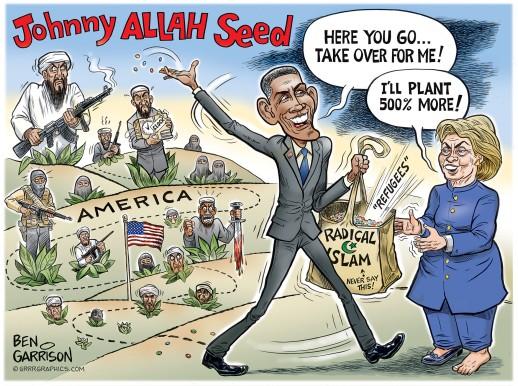 obama_hillary_muslims_ben_garrison