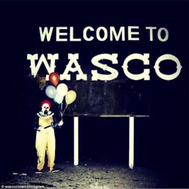 wasco-clown