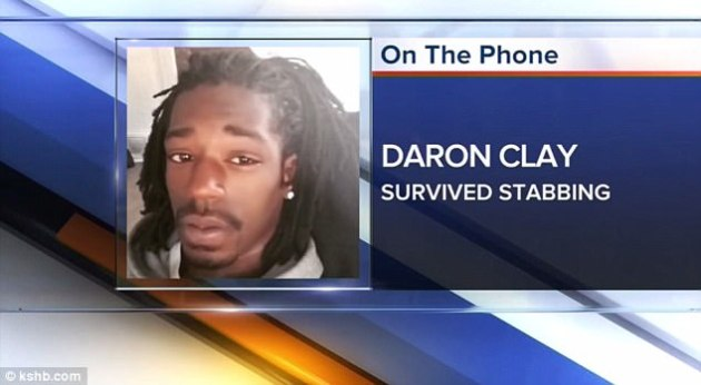 Hero Daron Clay of Kansas City