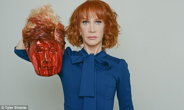 Trump hating Liberal Kathy Griffin